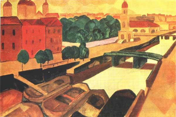 Р.Ф.Френц. Крюков канал Kryukov channel by Rudolf F. Frenz